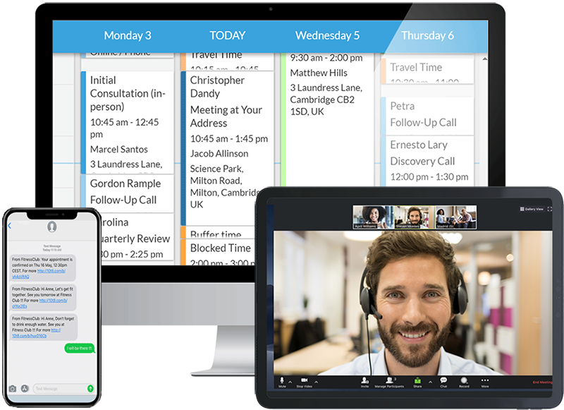 best remote working software tool 10to8 eeting scheduling software