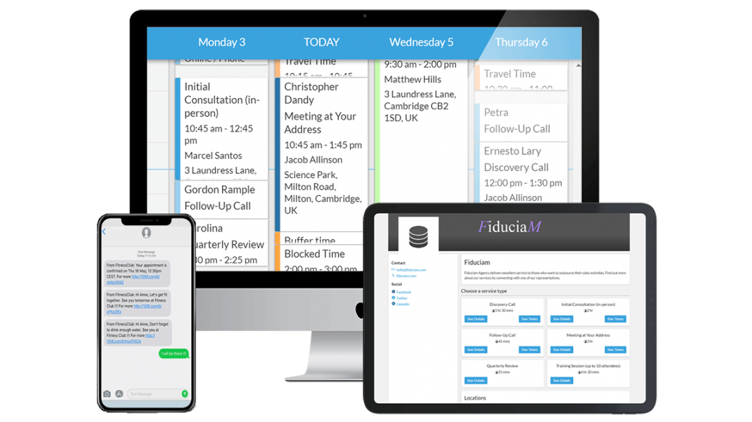 appointment scheduling software by 10to8