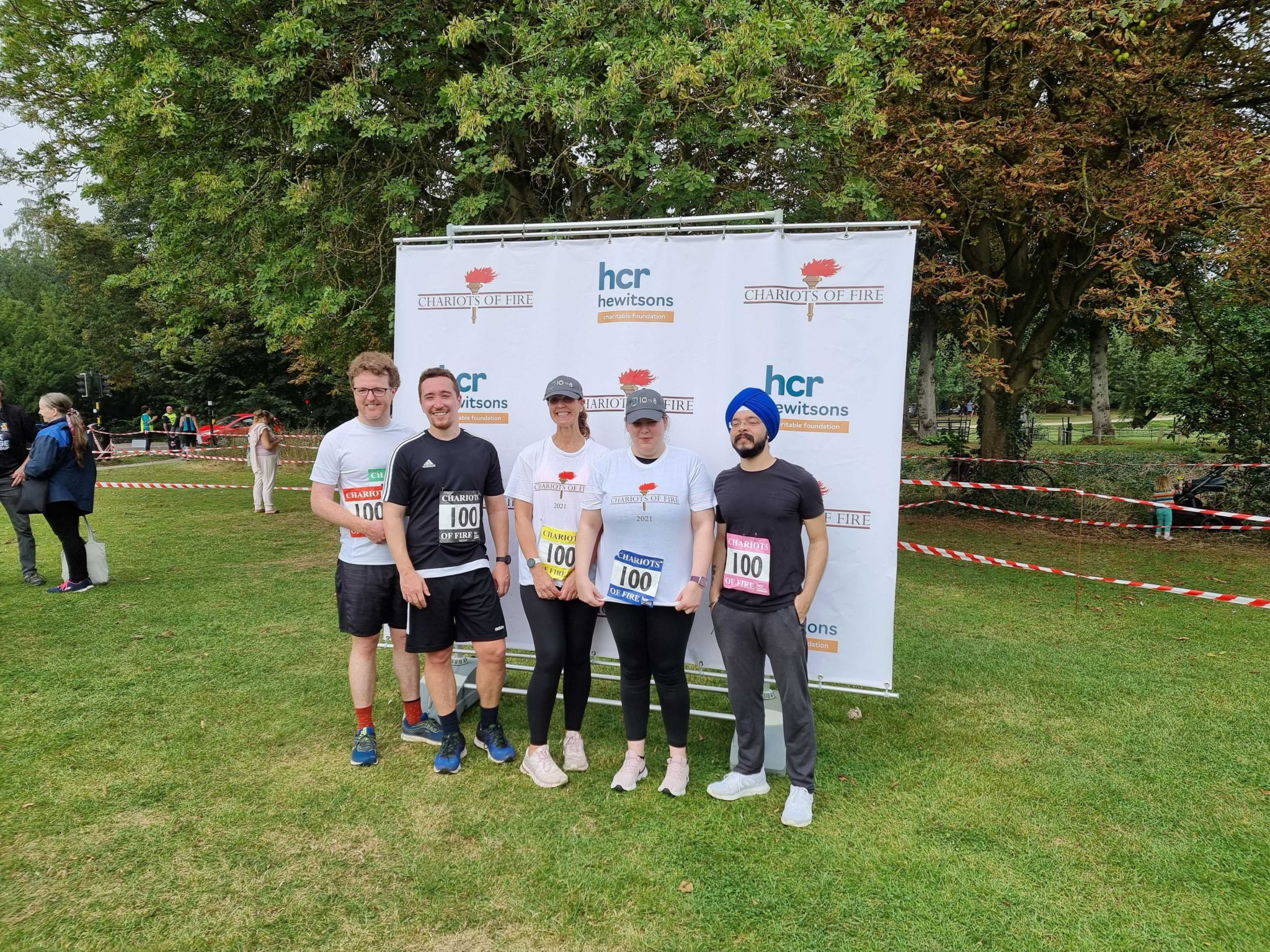 10to8 runners at the Chariots of Fire