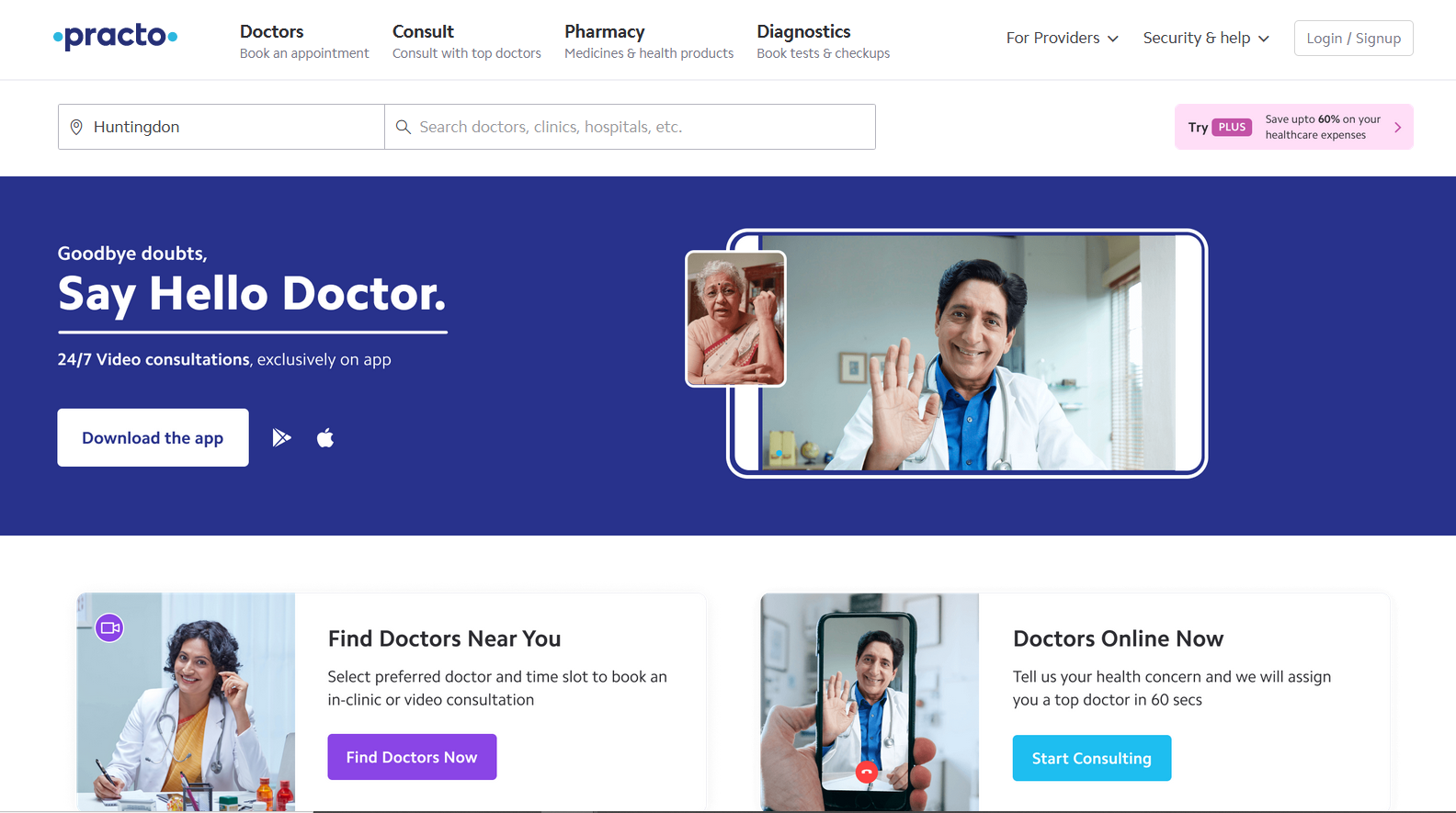 Practo is a great medical healthcare app