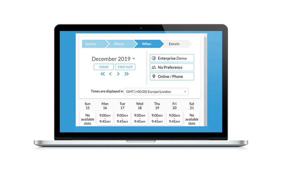 Appointment Scheduling calendar to manage your complementary health business and reduce admin