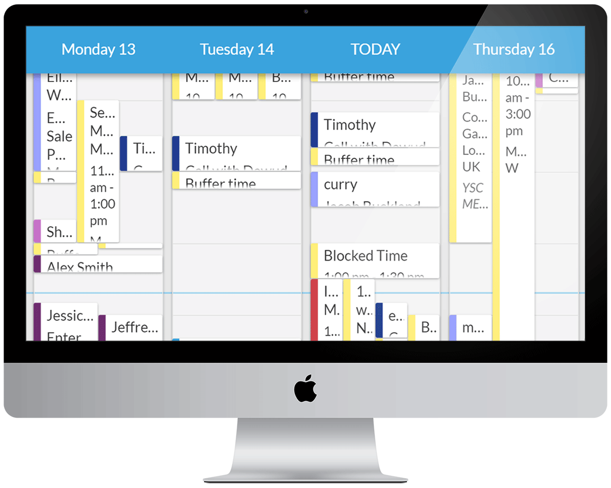 Appointment Scheduling calendar to manage your Health Care business and reduce admin