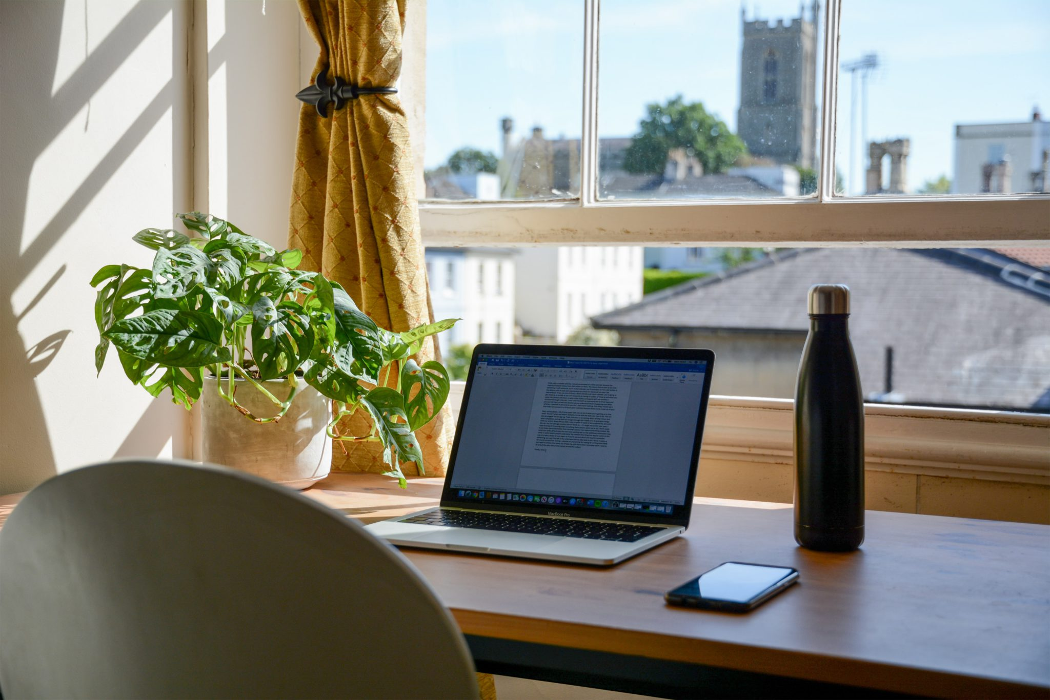 Working from home can sometimes lead to work burnout