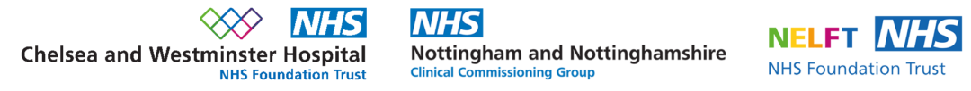NHS logos 10to8 booking system partners