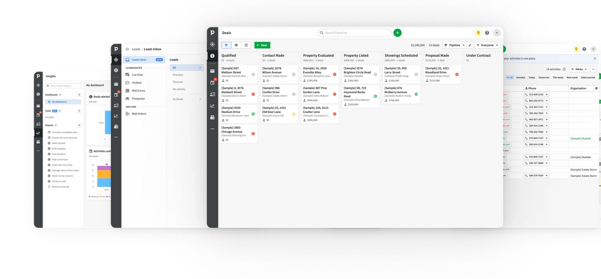 pipedrive is one of the best client management tools