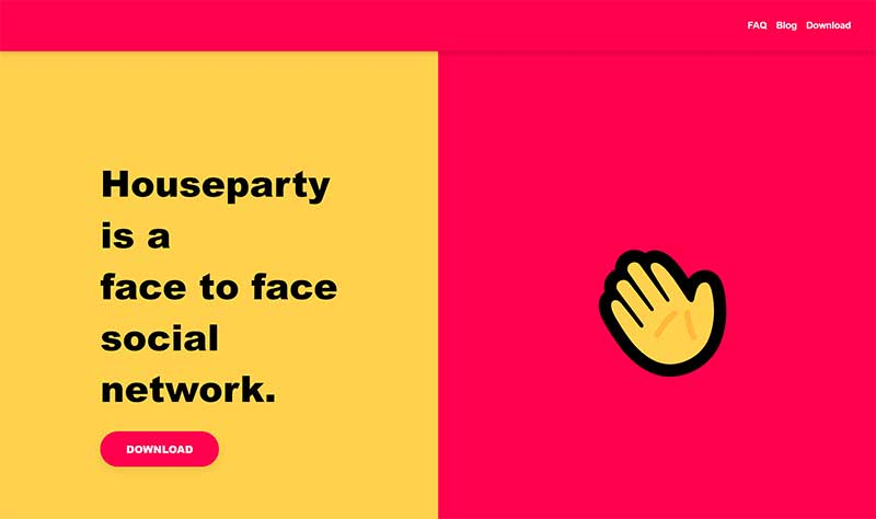 remote team building app Houseparty