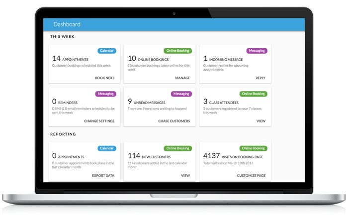 Appointment scheduling software that gives you a powerful reporting