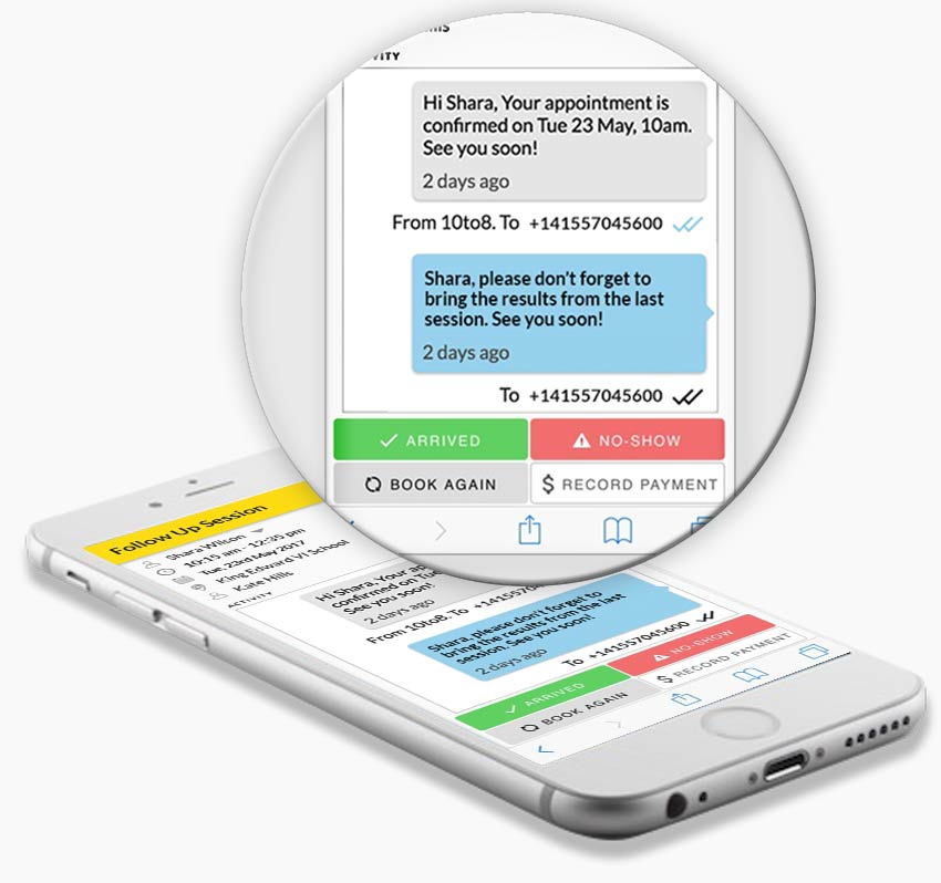 Appointment Scheduling Software with automated reminders for clients