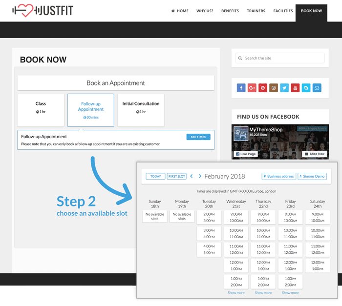 Wordpress Booking System | Online Booking Plugin For