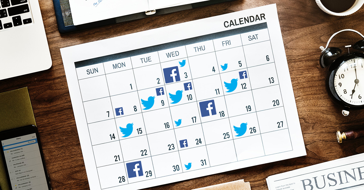 online scheduling tool social media bookings