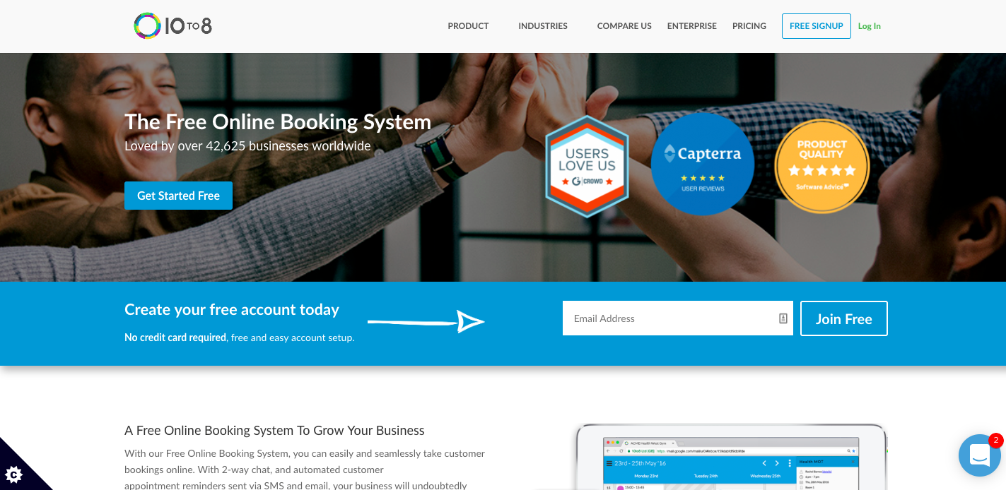 adwords quality score online booking system
