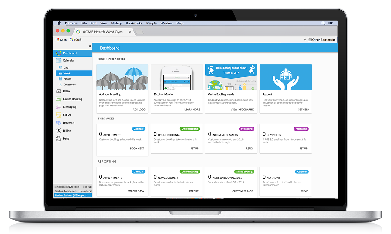 Appointment Scheduling Software for Beauty & Salons automated reminders for clients