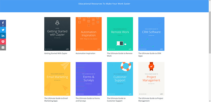 best business blogs to follow Zapier
