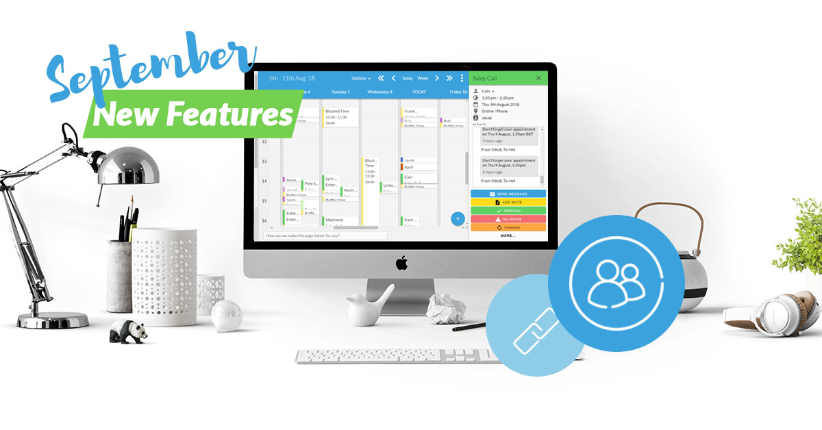 10to8 scheduling software new features in September