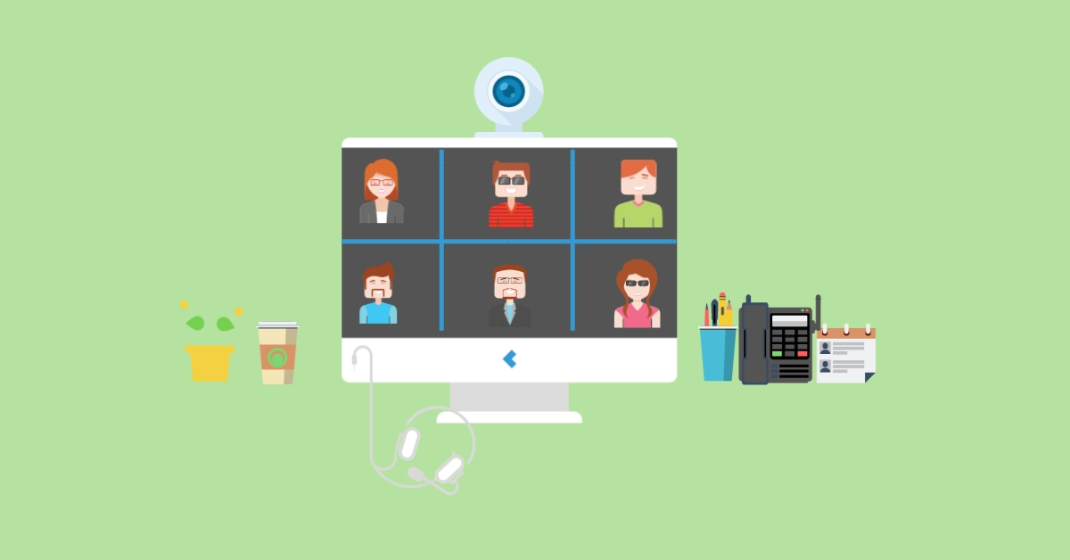 how to host a good virtual meeting blog cover